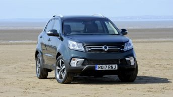 SSANGYONG KORANDO FRESH NEW-LOOK FOR 2017