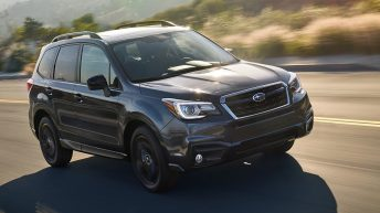 SUBARU ANNOUNCES PRICING ON 2018 FORESTER AND DEBUTS BLACK EDITION PACKAGE