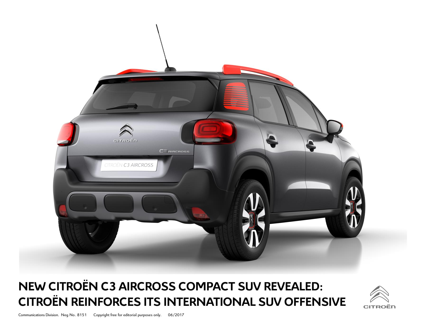 new citro n c3 aircross compact suv revealed. Black Bedroom Furniture Sets. Home Design Ideas