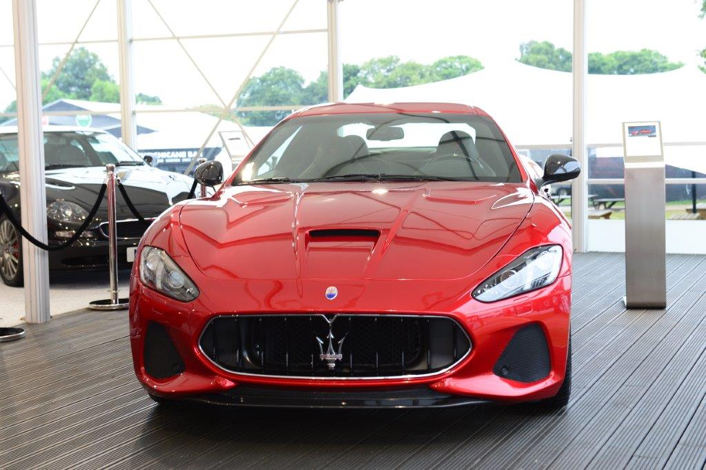 Maserati GranTurismo MC MY18 Allo Stand Maserati Al Goodwood Festival Of  Speed_1