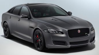 THE NEW 2018 JAGUAR XJR575 DEBUTS AT TOP SPEED