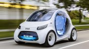 AUTONOMOUS CONCEPT CAR SMART VISION EQ FORTWO