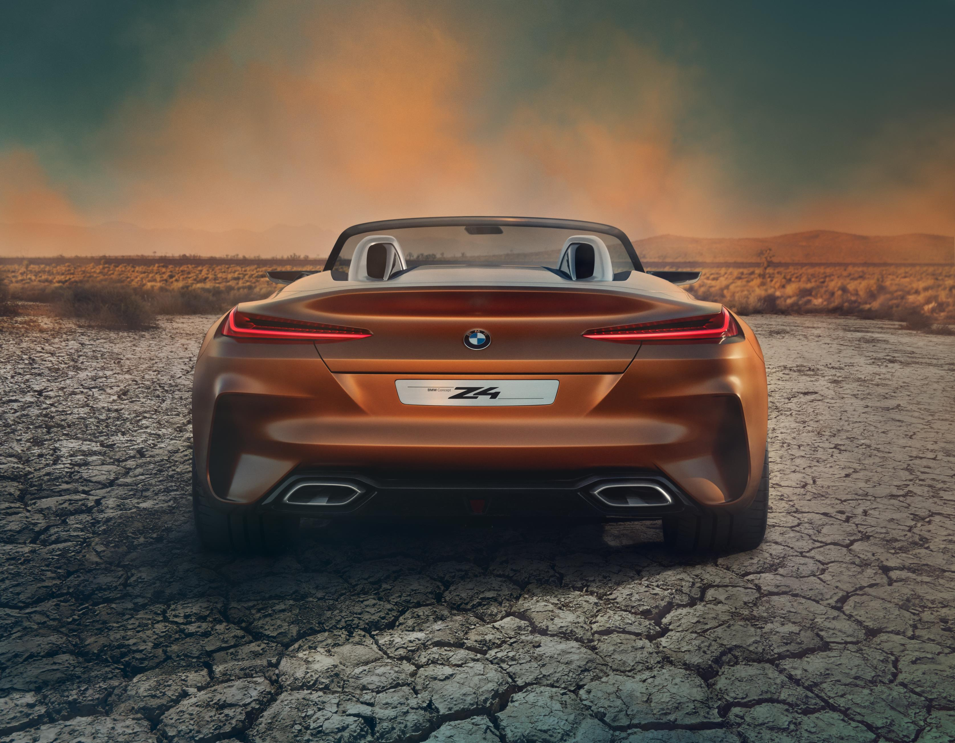 Bmw Unveils The Bmw Concept Z4 And The Bmw Concept 8