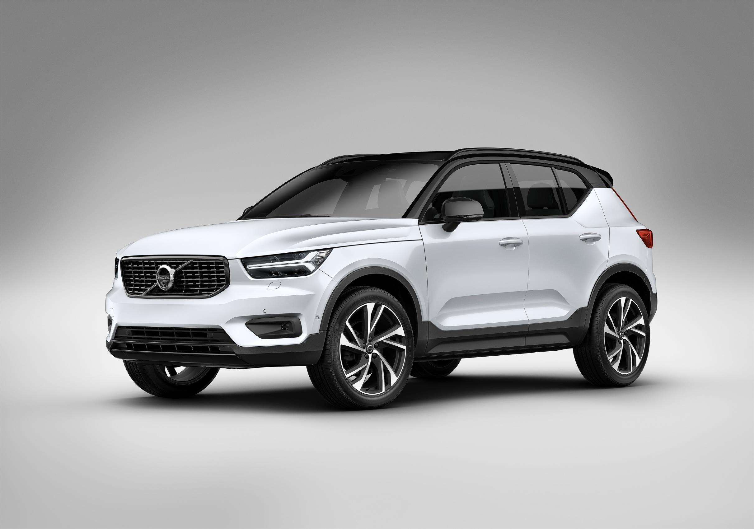 2018 volvo xc40 compact suv. Black Bedroom Furniture Sets. Home Design Ideas