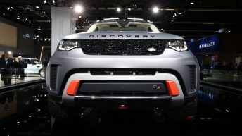 LAND ROVER DISCOVERY SVX UNVEILED