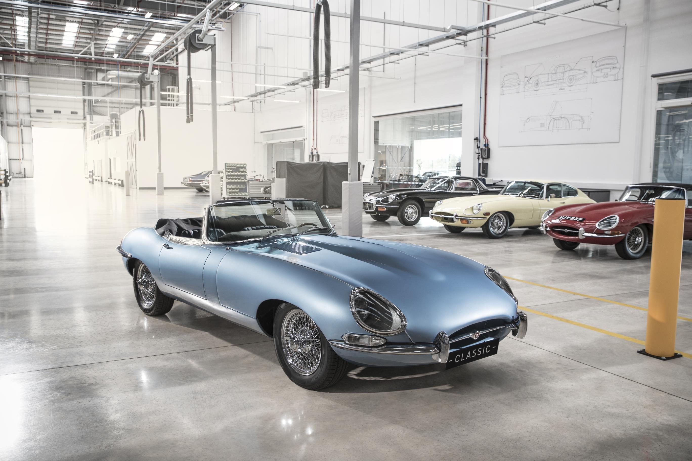 Jaguar Future Type Concept Electric E Type Jaguar S Vision For