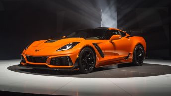 2019 CORVETTE ZR1 UNVEILED