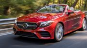 THE NEW 2018 MERCEDES-BENZ E-CLASS CABRIOLET