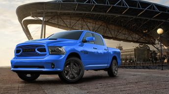 RAM UNVEILS SPECIAL-EDITION 2018 HYDRO BLUE SPORT