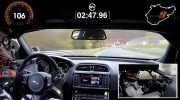 JAGUAR XE SV PROJECT 8 SETS RECORD TIME OF 7:21.23 ON NÜRBURGRING