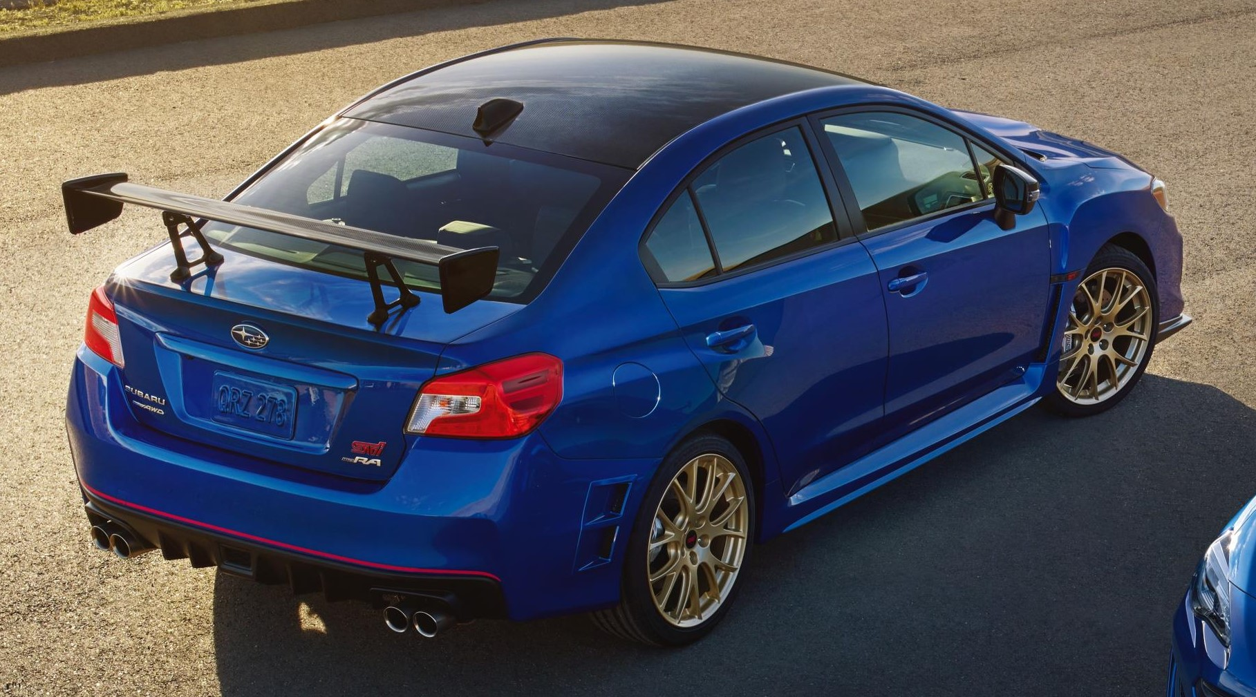 Michelin Pilot Sport >> SUBARU ANNOUNCES PRICING ON LIMITED EDITION 2018 WRX STI TYPE RA AND BRZ TS - myAutoWorld.com
