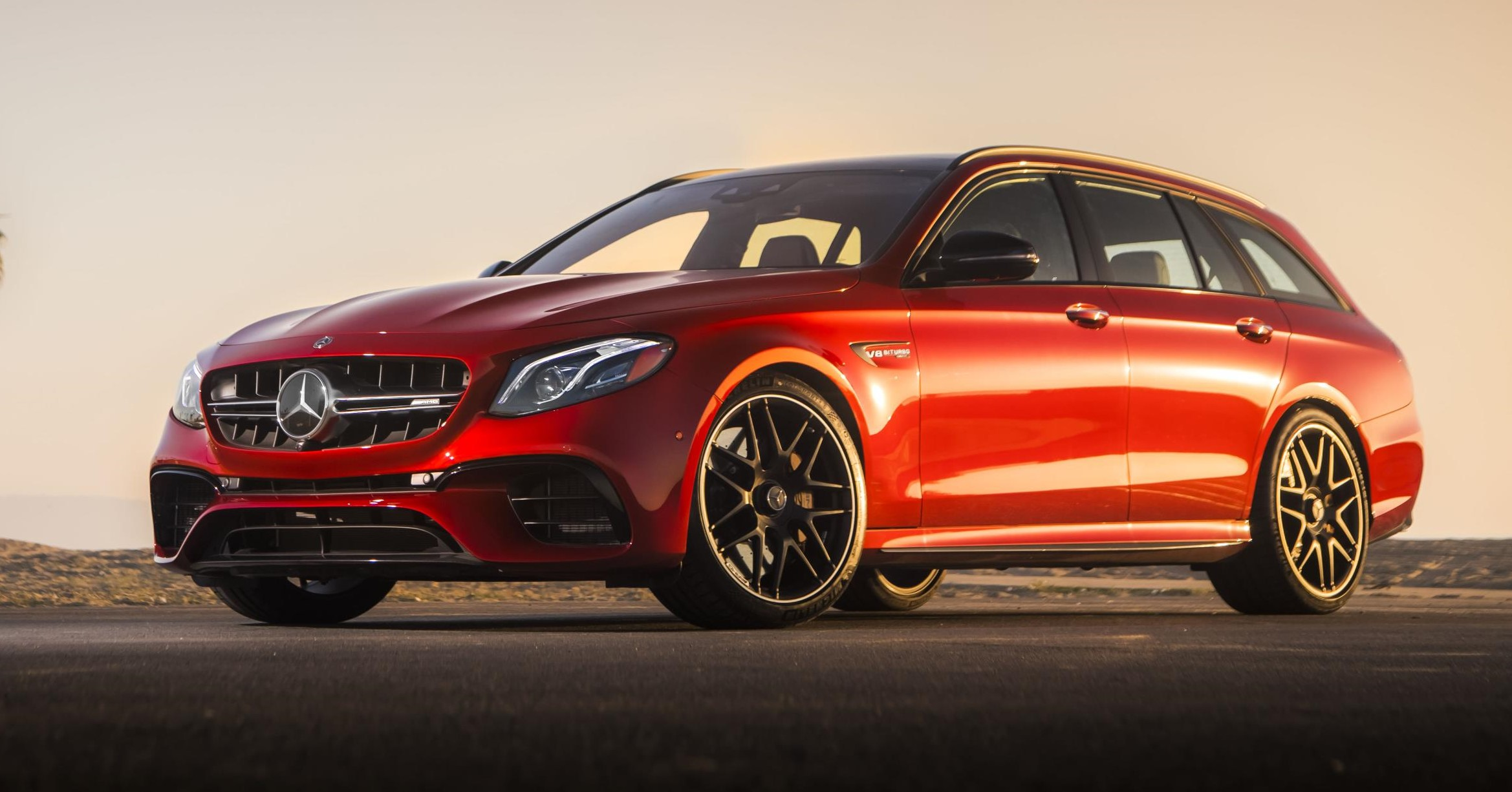 New mercedes benz amg e class wagon the american for New mercedes benz model