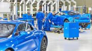 RENAULT INAUGURATES NEW ALPINE A110 PRODUCTION LINE IN FRANCE