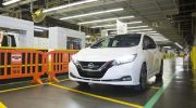 ALL-NEW 2018 NISSAN LEAF PRODUCTION BEGINS IN TENNESSEE