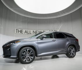 THE ALL-NEW 2018 LEXUS RX 350L THIRD ROW SEATING