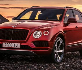 THE BENTLEY BENTAYGA V8
