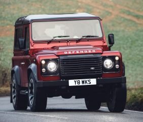 LAND ROVER LAUNCHES DEFENDER V8 EDITION TO CELEBRATE 70TH ANNIVERSARY