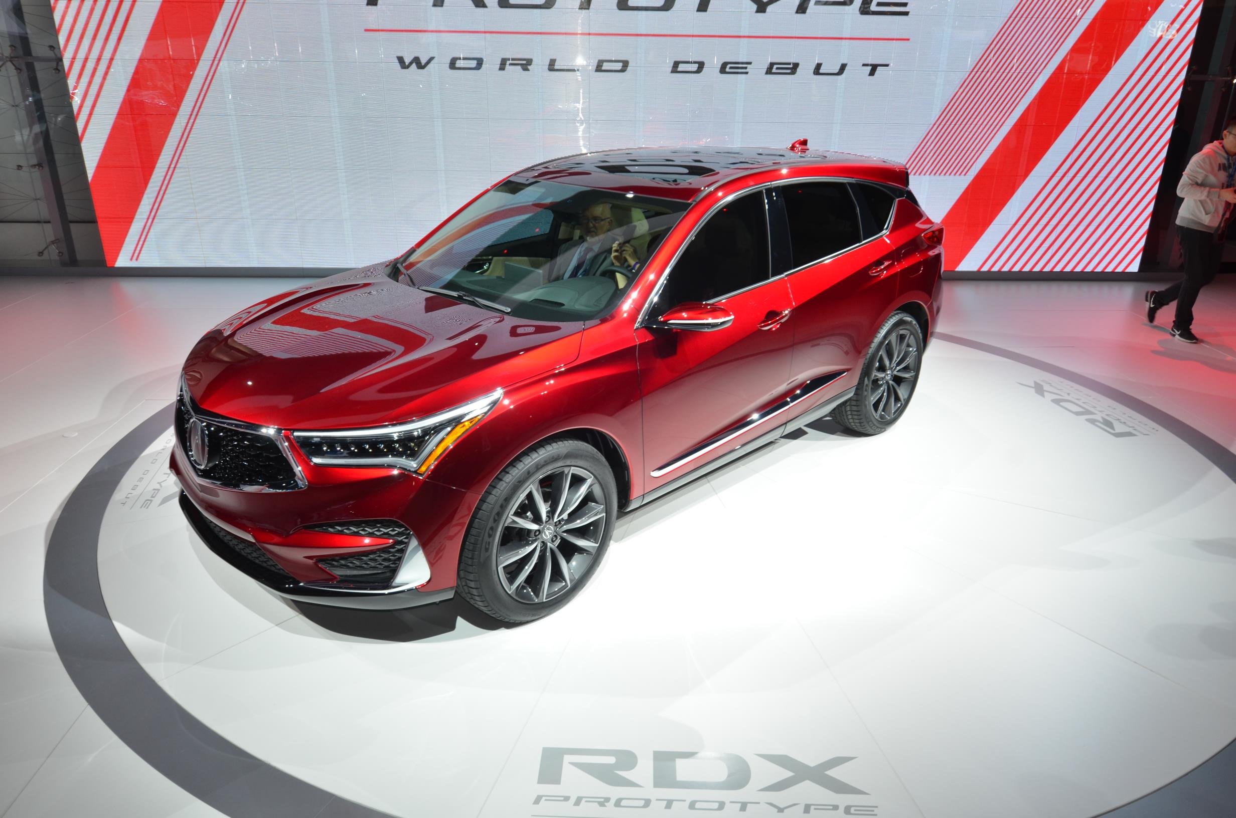 2019 acura rdx prototype debuts. Black Bedroom Furniture Sets. Home Design Ideas