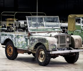 LAND ROVER RESTORATION OF 'MISSING' ORIGINAL 4X4