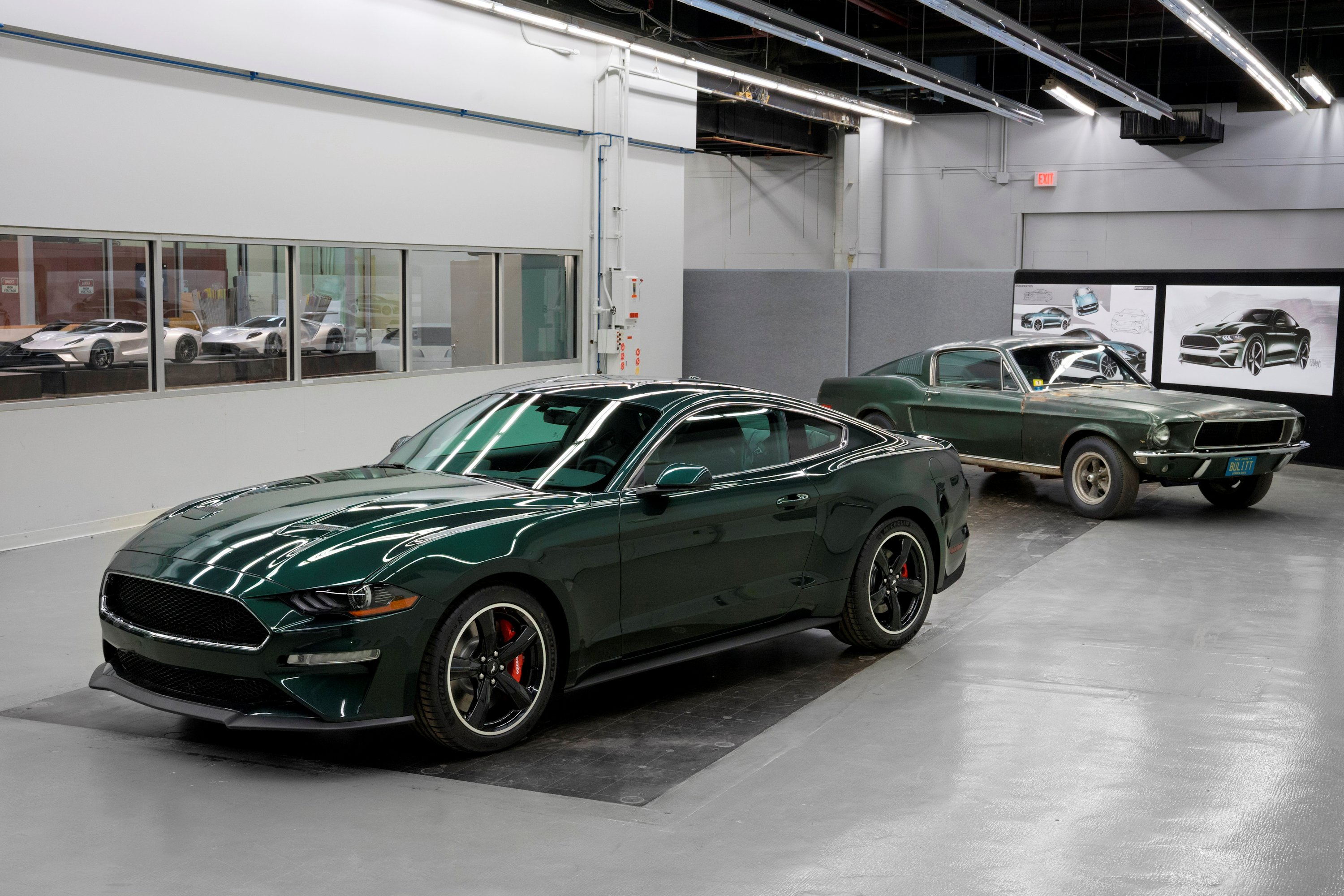 New 2019 Mustang Bullitt With Original