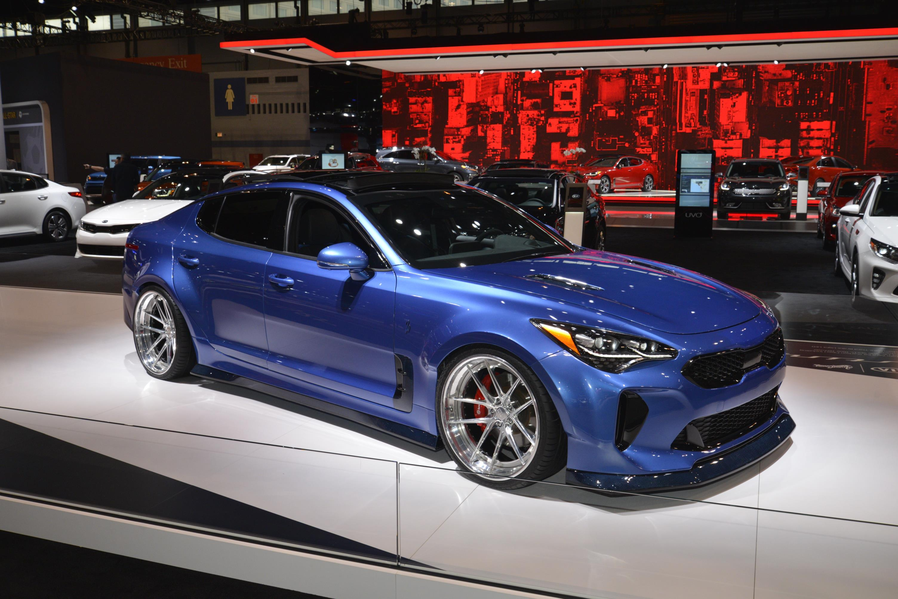 Chicago Auto Show Gallery MyAutoWorldcom - Kia car show