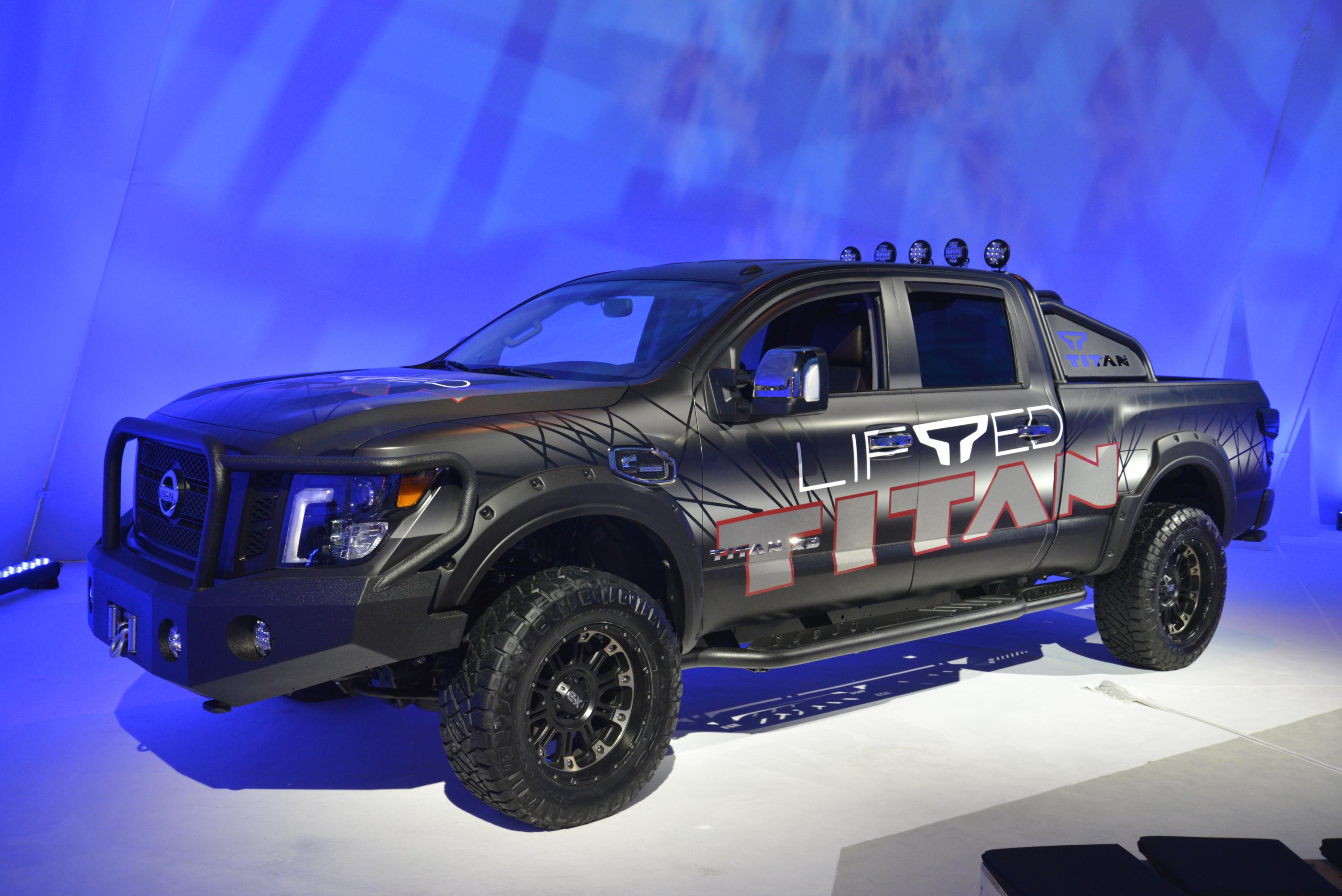 nissan titan available with factory authorized suspension. Black Bedroom Furniture Sets. Home Design Ideas