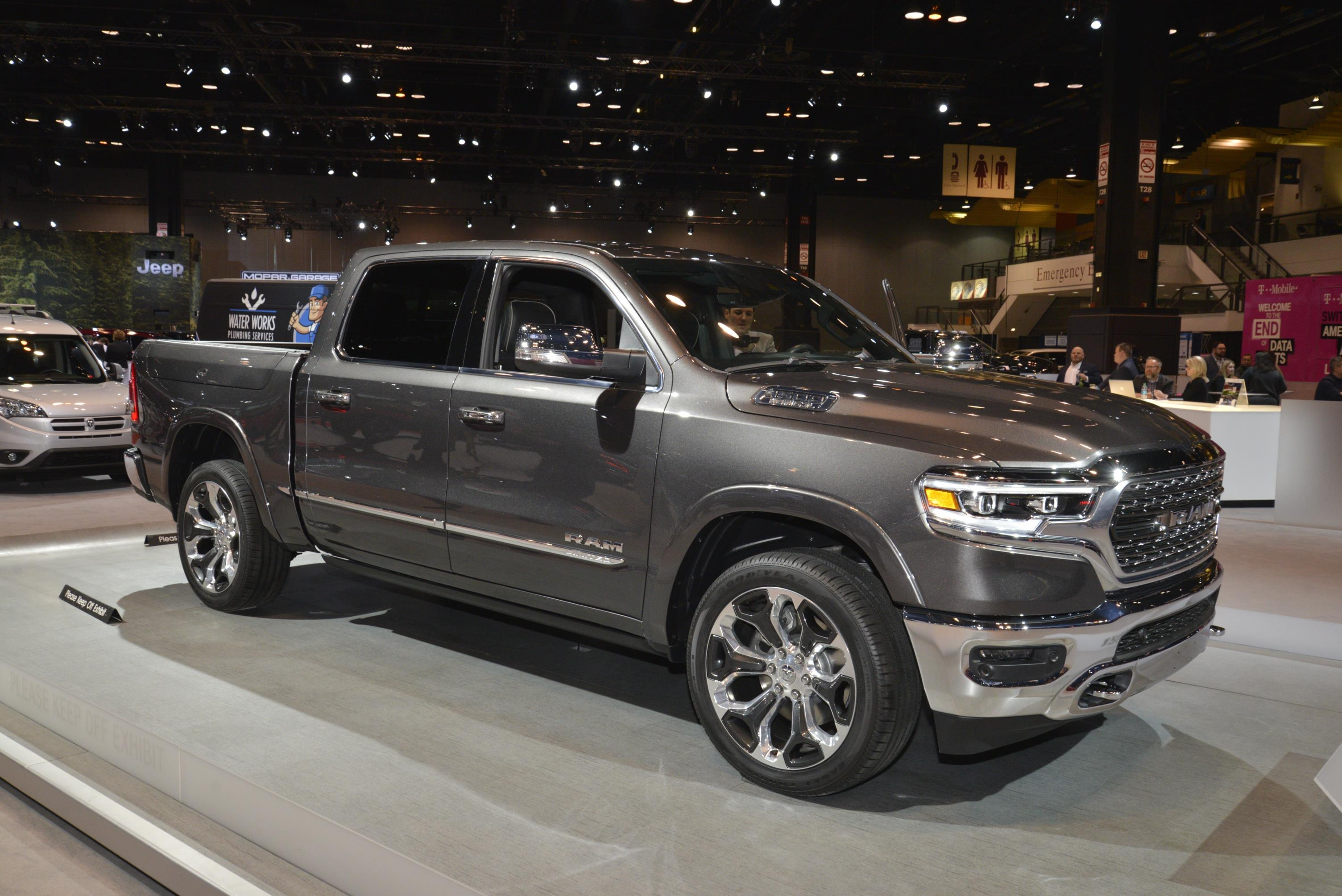 ALL-NEW 2019 RAM 1500 AT CHICAGO AUTO SHOW - myAutoWorld.com