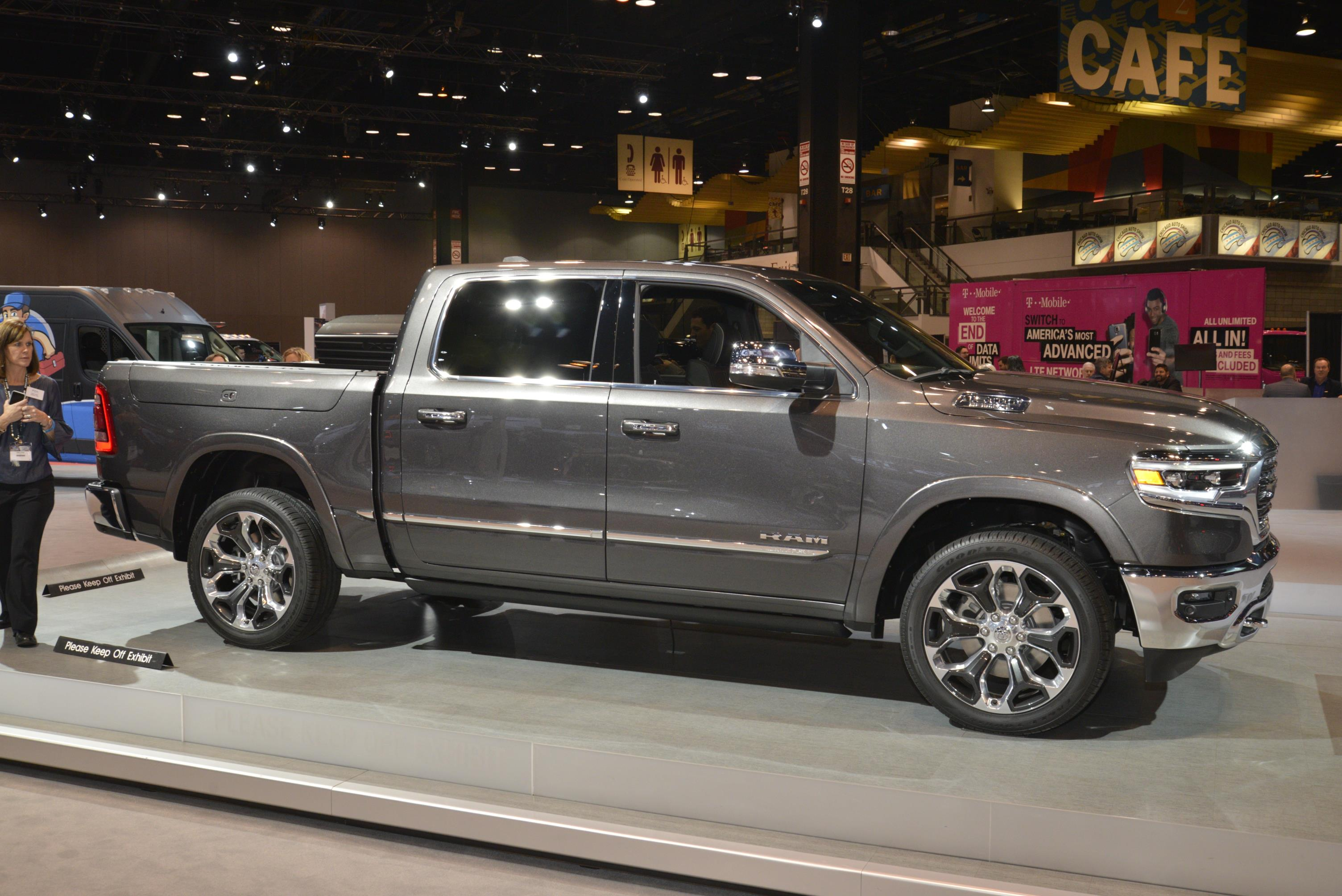 all new 2019 ram 1500 at chicago auto show. Black Bedroom Furniture Sets. Home Design Ideas