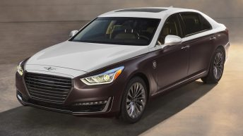 GENESIS SPECIAL-EDITION G90 SEDANS FOR 2018 ACADEMY AWARDS