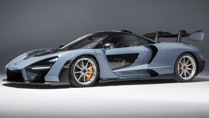 NEW MCLAREN SENNA FACTS AND FIGURES REVEALE