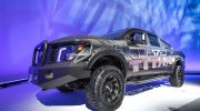 NISSAN TITAN AVAILABLE WITH FACTORY-AUTHORIZED SUSPENSION LIFT KIT