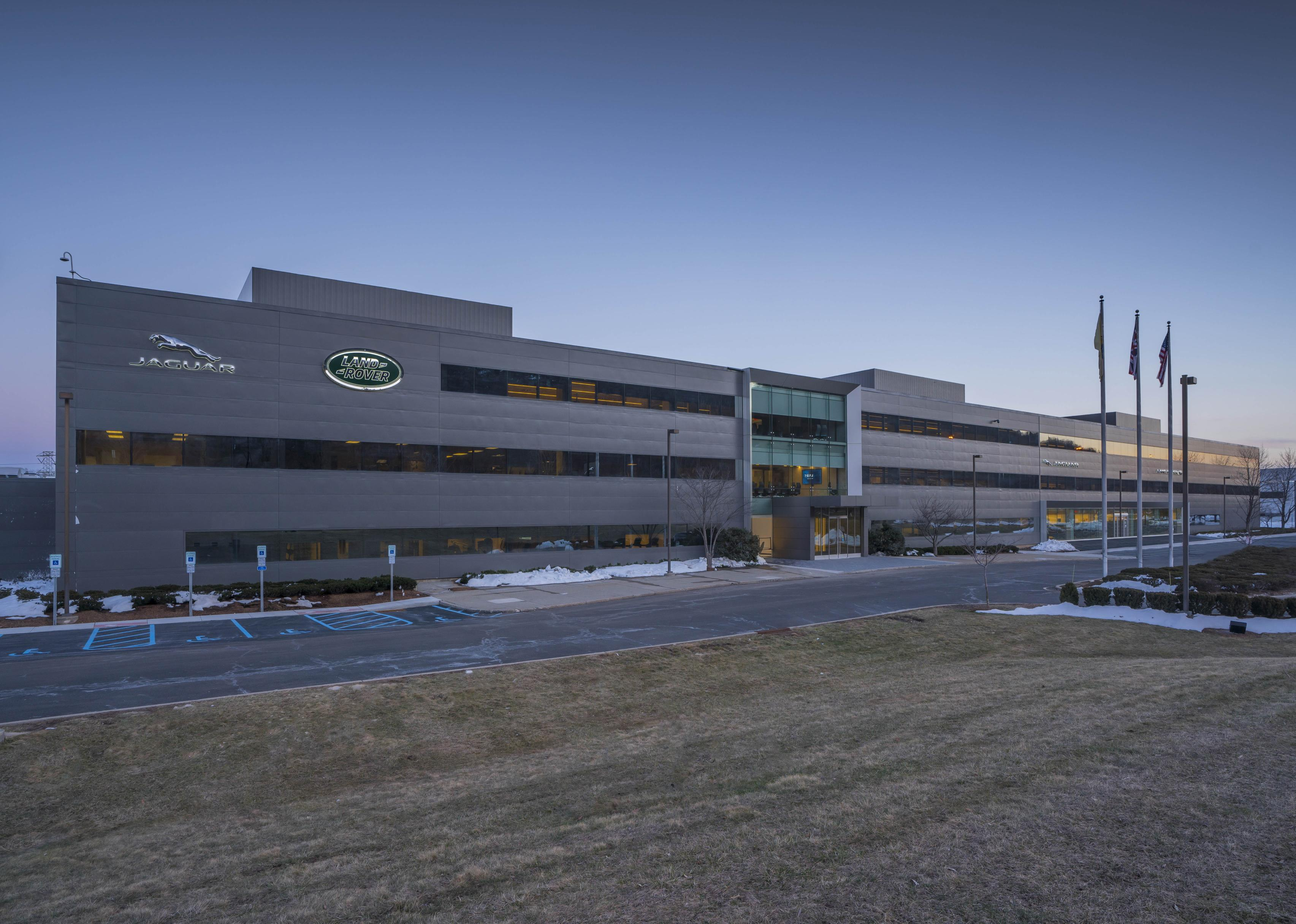 JAGUAR LAND ROVER CELETES OPENING OF NEW NORTH AMERICAN ...