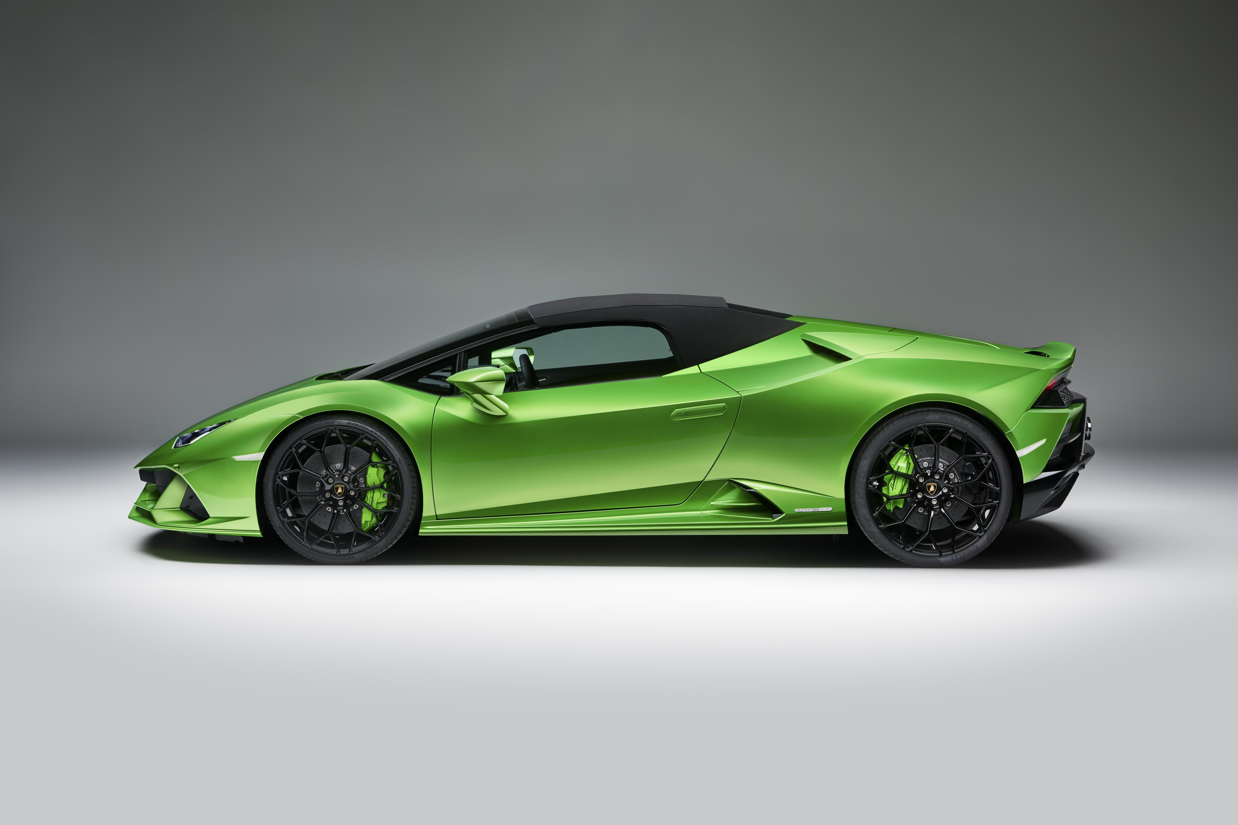 Lamborghini Unveils Huracan Evo Spyder Myautoworld Com